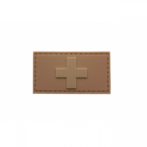 Pitchfork Swiss Flag Patch - Tan