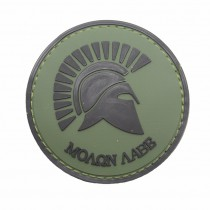 Pitchfork Molon Labe Patch - Olive