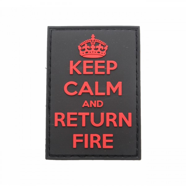 Pitchfork Keep Calm Return Fire Patch - Medic