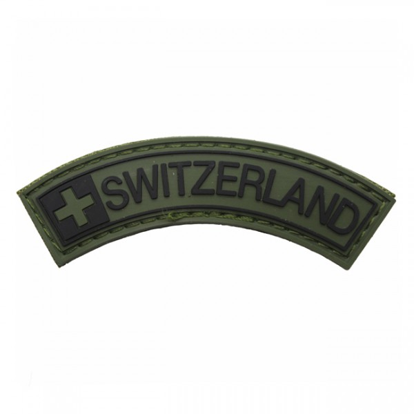 Pitchfork Switzerland Tab Patch - Olive