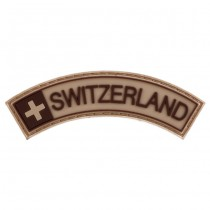 Pitchfork Switzerland Tab Patch - Tan
