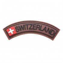 Pitchfork Switzerland Tab Patch - Color