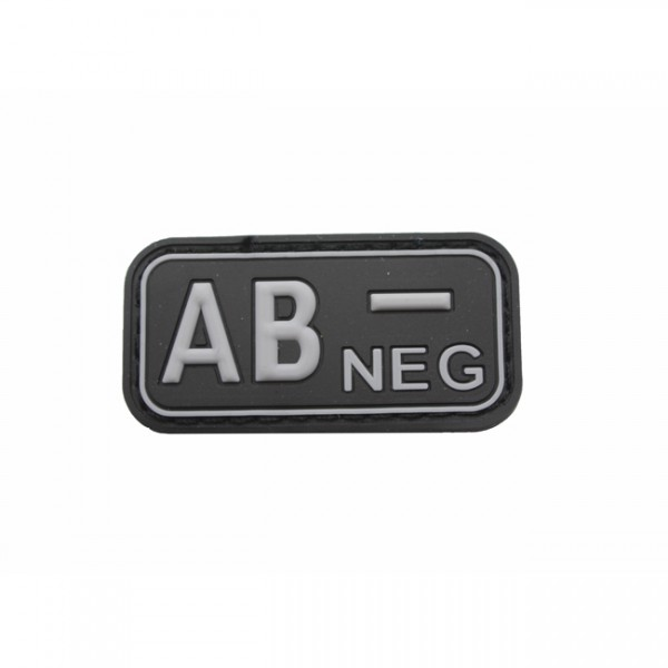 Pitchfork Blood Type AB NEG Patch - Swat