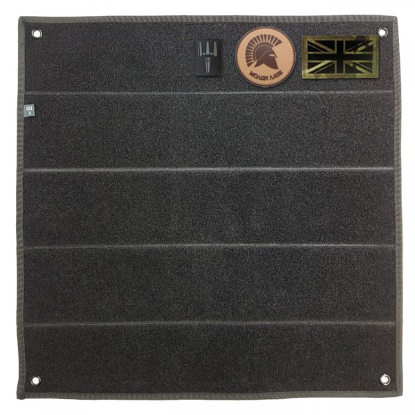 Pitchfork Velcro Patch Panel - Black