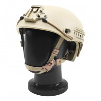 Pitchfork AirVent Level IIIA Tactical Helmet - Dark Earth