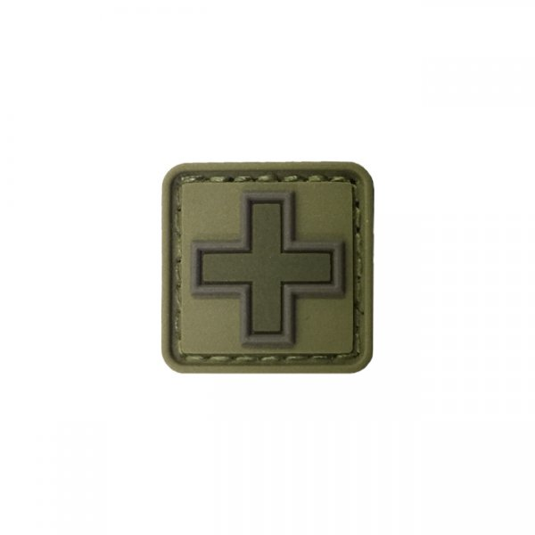 Pitchfork Medic Cross Patch - Olive