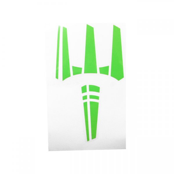 Pitchfork The Trident Sticker - Zombie Green