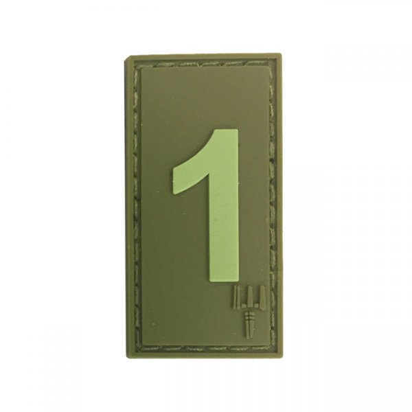 Pitchfork Number 1 Patch - Olive