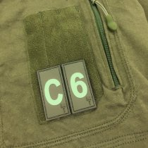 Pitchfork Number 5 Patch - Olive