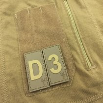 Pitchfork Number 9 Patch - Tan
