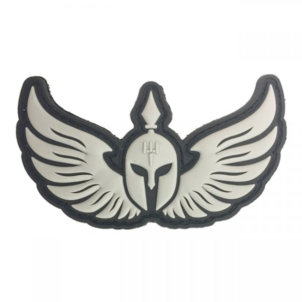 Pitchfork Molon Labe Wings - Black