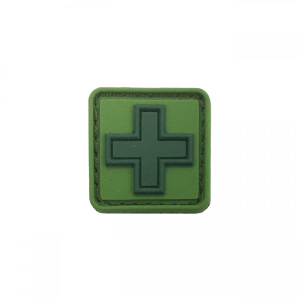 Pitchfork Medic Cross Patch - Signal Green