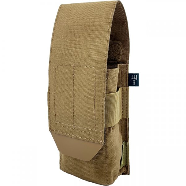 Pitchfork Closed Single AK Magazine Pouch - Coyote
