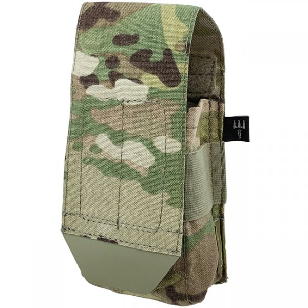 Pitchfork Closed Single AR15 Magazine Pouch - Multicam