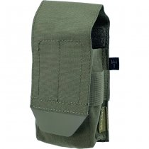 Pitchfork Closed Single AR15 Magazine Pouch - Ranger Green