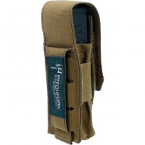 Pitchfork Closed Single Pistol Magazine Pouch - Coyote