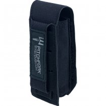 Pitchfork Closed Tool & Flashlight Pouch - Black