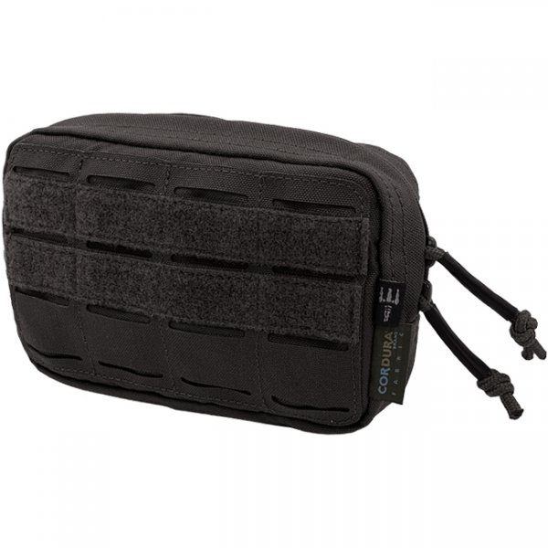 Pitchfork Horizontal Utility Pouch Small - Black