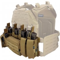 Pitchfork MCR Modular Chest Rig Base - Coyote