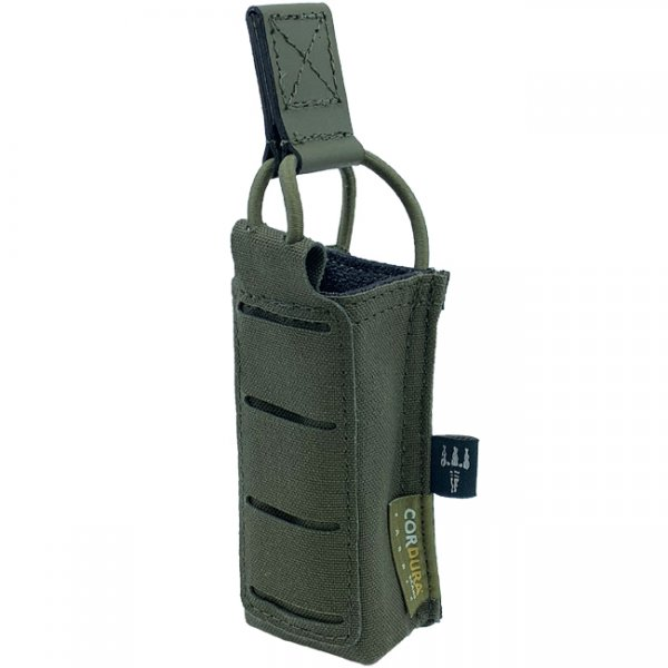 Pitchfork Open Single Pistol Magazine Pouch - Ranger Green