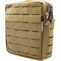 Pitchfork Vertical Utility Pouch Medium - Coyote