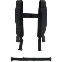 Pitchfork Chest Rig Shoulder & Waist Straps - Black