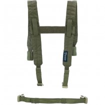 Pitchfork Chest Rig Shoulder & Waist Straps - Ranger Green