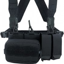 Pitchfork MicroMod Rifle Chest Rig Complete Set - Black