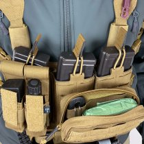 Pitchfork MicroMod Chest Rig Complete Set - Coyote