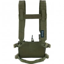 Pitchfork MicroMod Chest Rig Complete Set - Ranger Green