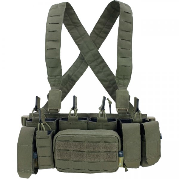 Pitchfork MCR Modular Chest Rig - Ranger Green