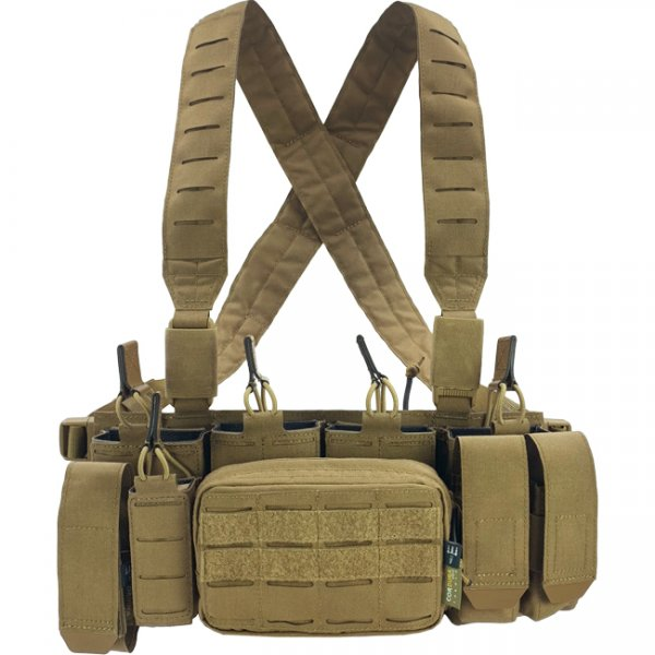 Pitchfork MCR Modular Chest Rig - Coyote