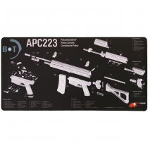 B&T APC223 Exploded View Tech Mat - Large