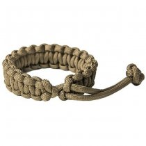 Pitchfork Paracord Bracelet Knotted - Coyote M