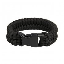 Pitchfork Paracord Bracelet Buckle - Black S