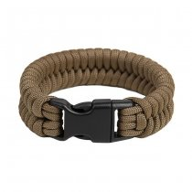Pitchfork Paracord Bracelet Buckle - Coyote S
