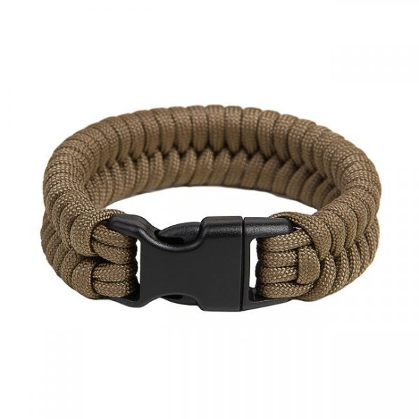 Pitchfork Paracord Bracelet Buckle - Coyote L