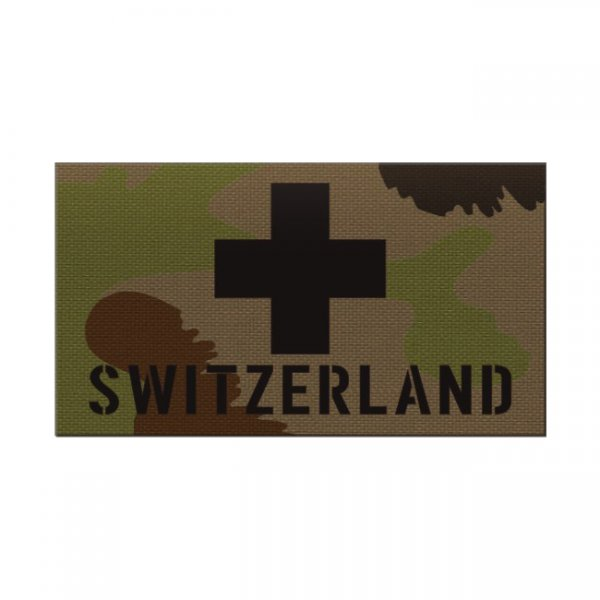 Pitchfork Switzerland IR Print Patch - SwissCamo