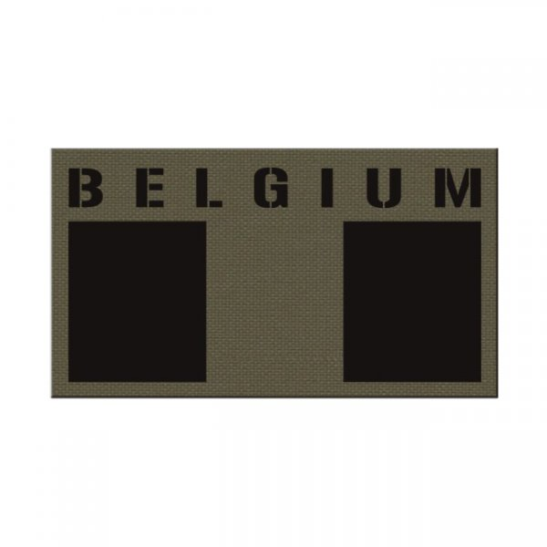 Pitchfork Belgium IR Print Patch - Ranger Green