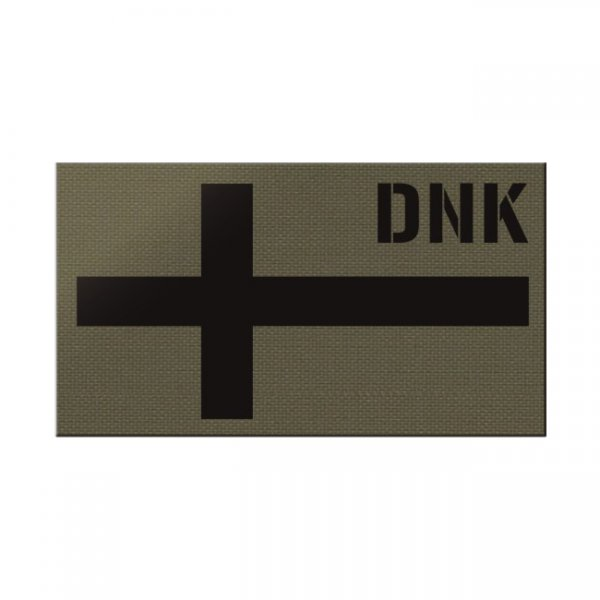 Pitchfork Denmark IR Print Patch - Ranger Green