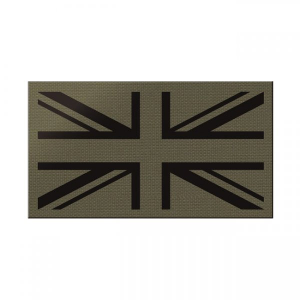 Pitchfork Great Britain IR Print Patch - Ranger Green