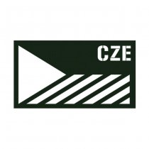 Pitchfork Czech Republic IR Print Patch - Ranger Green