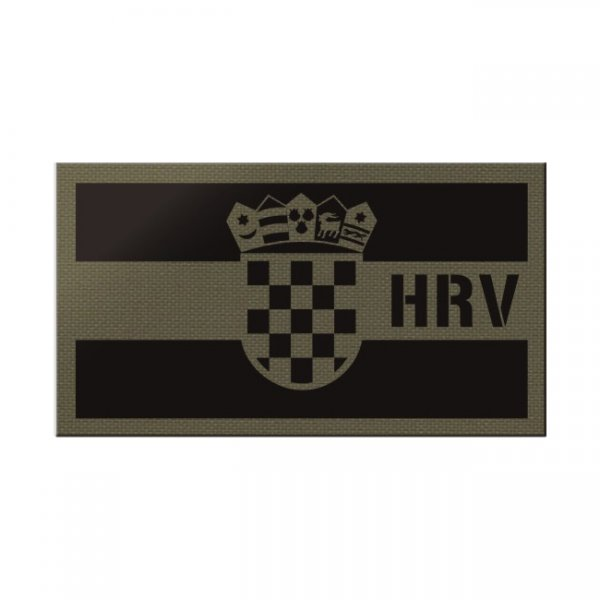 Pitchfork Croatia IR Print Patch - Ranger Green