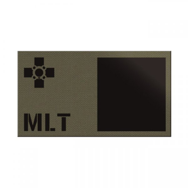 Pitchfork Malta IR Print Patch - Ranger Green