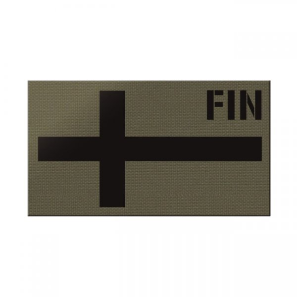 Pitchfork Finland IR Print Patch - Ranger Green