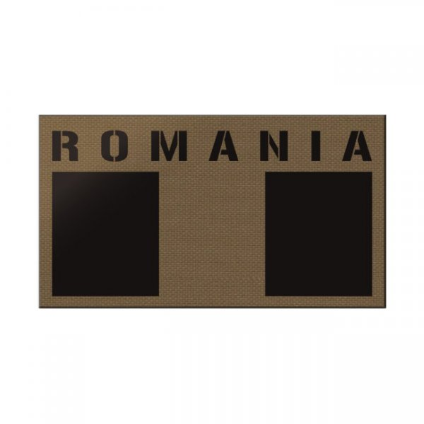Pitchfork Romania IR Print Patch - Coyote