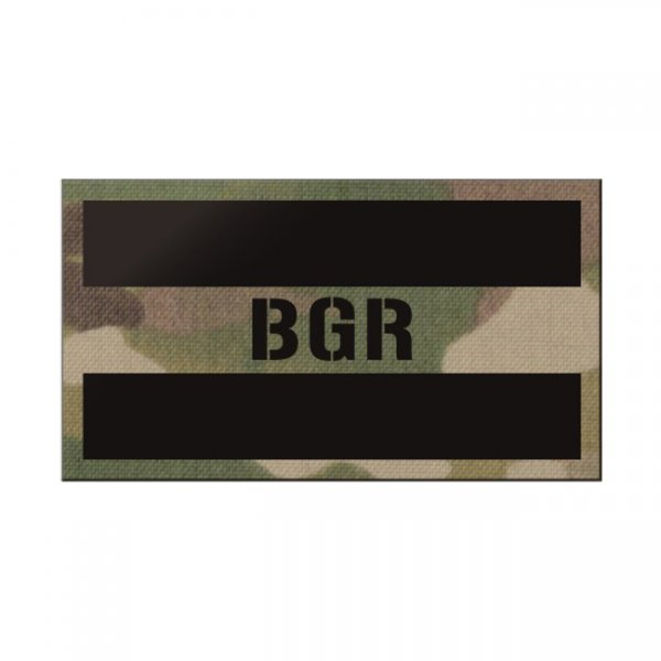 Pitchfork Bulgaria IR Print Patch - Multicam