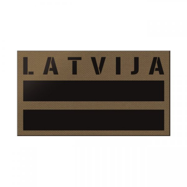Pitchfork Latvia IR Print Patch - Coyote