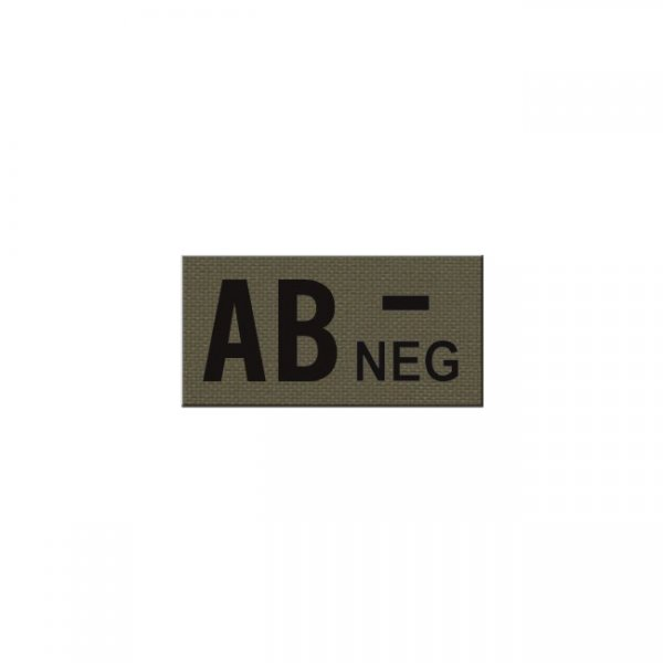 Pitchfork AB NEG Blood Type IR Patch - Ranger Green