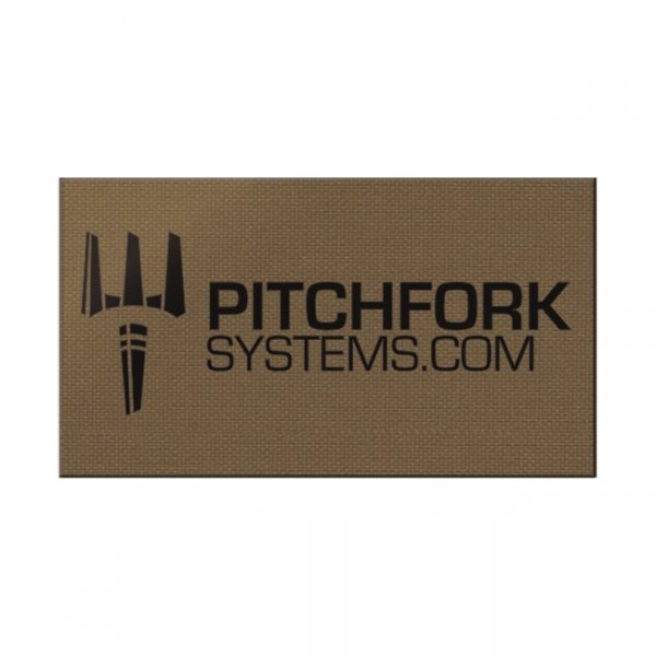 Pitchfork IR Brand Print Patch - Coyote